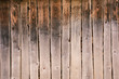 Wall, fence from old rural wooden boards, background and texture.