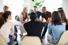 People In A Support Group