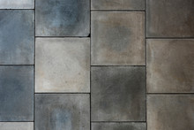 Gray Tiled Wall