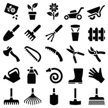 Garden Tool Icon Collection - ...