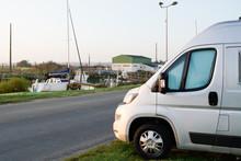 Camper Van Parked During Vacat...