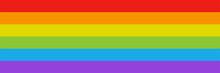 Rainbow Flag. Vector Isolated ...