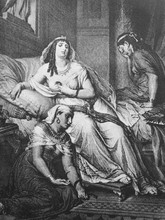 An Illustration Of Cleopatra W...