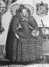 The Portrait Of Queen Elizabet...