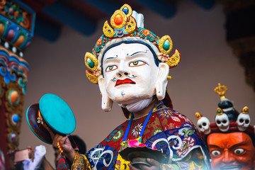 Cham Dances at Takh tokh festival