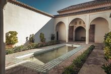 Alcazaba Interior Courtyard Wi...