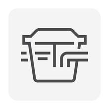 Grease Trap Icon