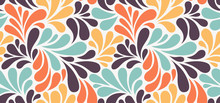 Vector Seamless Pattern With M...