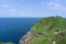 Landscape View Of The Northeast Coast Of Taiwan On Bitou Cape Hiking Trail , New Taipei City, Taiwan