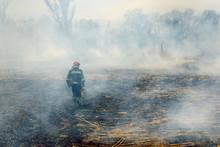 Firefighters Helped Battle A W...