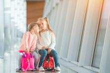 Adorable Little Girls Having F...