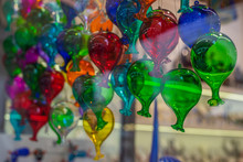 Colorful Glass Balloons In A V...