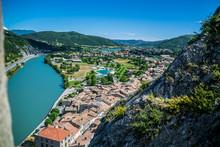 Sisteron, Alpes-de-Hautes-Provence, Sud De La France.