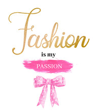 Lettering Fashion Is My Passio...