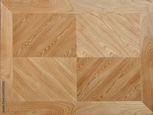 Fototapeta Wooden background in four section. obraz na płótnie