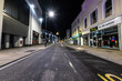 Erie Cheltenham Spa High Street during the Coronavirus pandemic on what usually would've been a busy Friday night.