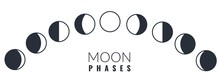 Moon Phases. Different Phases ...