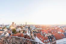 Denmark, Copenhagen, Clear Sky...