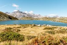 Suretta Lake, Alps, Grisons, Switzerland