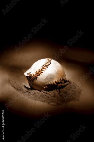 Fotografie, Obraz Close-up Of Baseball Ball