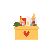 Coronavirus Donation Food. Don...