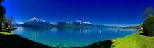 Scenic Landscape In Switzerland