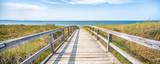 Fototapeta Fototapety z morzem do Twojej sypialni - Panoramic view of a dune beach, Schleswig-Holstein, Germany