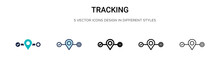 Tracking Icon In Filled, Thin ...
