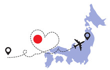 Travel To Japan By Airplane Co...