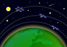 Artificial Satellite Orbit Aro...