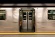 Inside of New York Subway: New York, NY, U.S.A.
