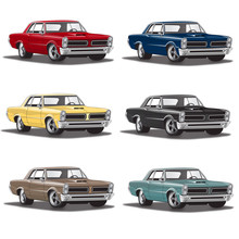 60's Classic Muscle Cars