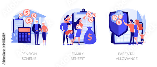 Photo Social security payments metaphors