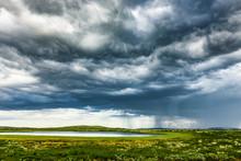 Regenwolken über Dem Venabygd...