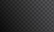 Background with dark grey squares. Transparency grid for your design