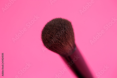Makeup brush for eyes Canvas Print