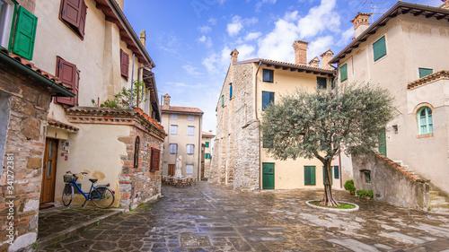 Die Altstadt von Grado an der oberen Adria in Italien Canvas Print