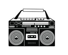 Vector Old Cassette Recorder I...