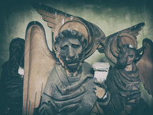 Sculptures On Religious Themes...