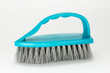cleaning brushes on a white background
