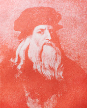 The Portrait Of Leonardo Da Vi...
