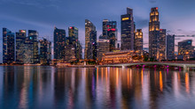 Singapore Downtown Business Ar...
