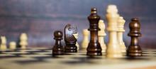Chess On A Dark Background