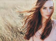 Beautiful Woman Natural Face F...