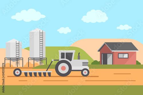Photo Farm Landscape