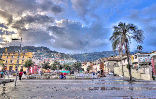 Historical center of Quito, Ecuador