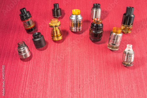 Various models of atomizers for box modes, mechanical modes Canvas Print