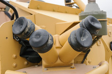 Smoke Launcher On An Armoured Troop Carrier
