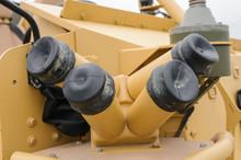 Smoke Launcher On An Armoured ...