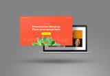 Floating Presentation Showcase Mockup - 341411114